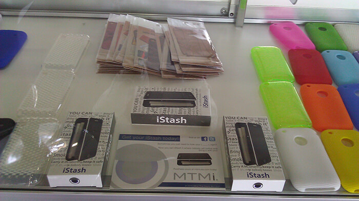 The iStash on Store Shelves
