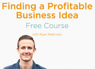 How to Find a Profitable Business Idea Free Online Course with Ryan Robinson on ryrob