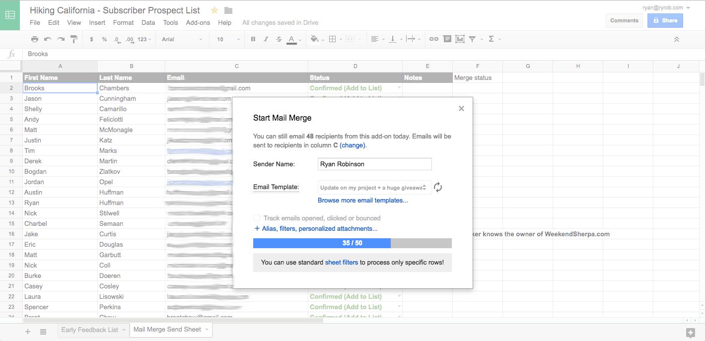 validate-business-idea-mail-merge-send