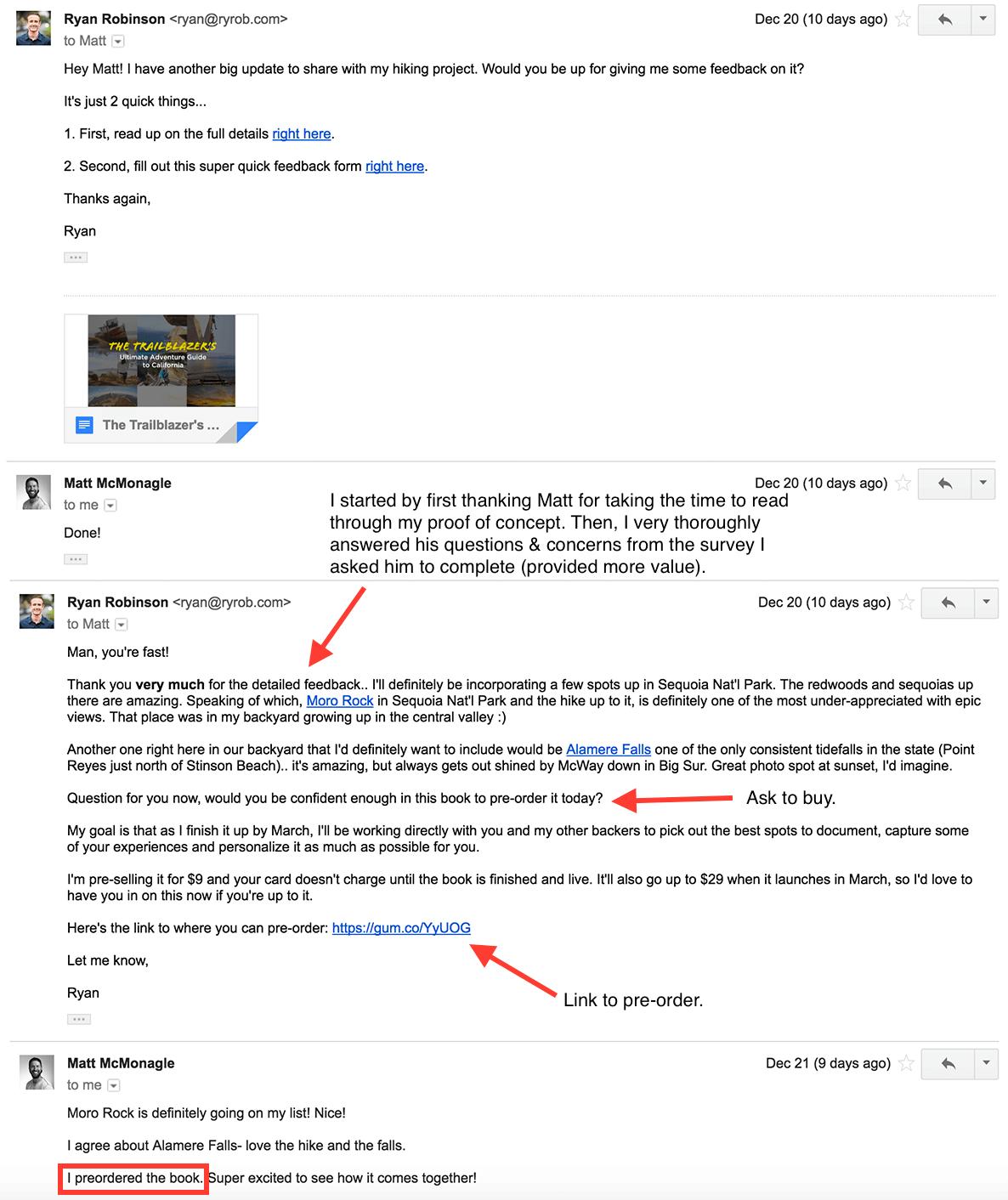 validate-business-idea-matt-preorder-email