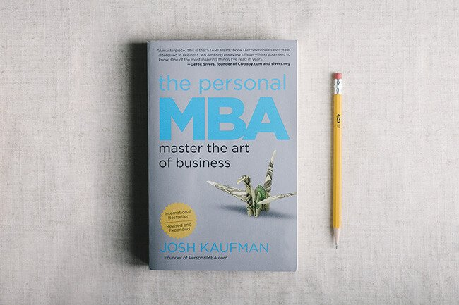 Best Business Book Personal MBA Josh Kaufman