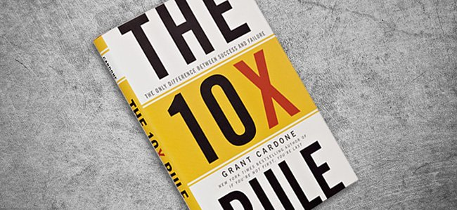 Best Business Books 10x rule grant cardone