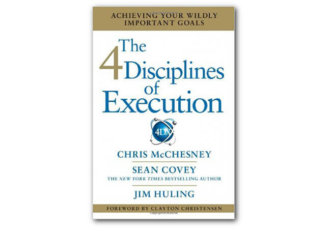 Best Business Books 4 Disciplines of Execution