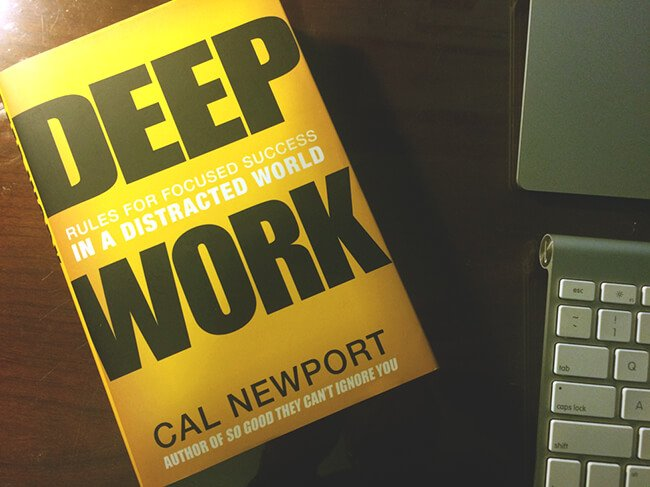 Best Business Books Deep Work Cal Newport