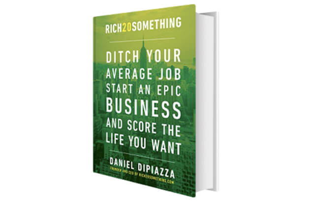 Best Business Books Rich 20 Something Daniel DiPiazza copy