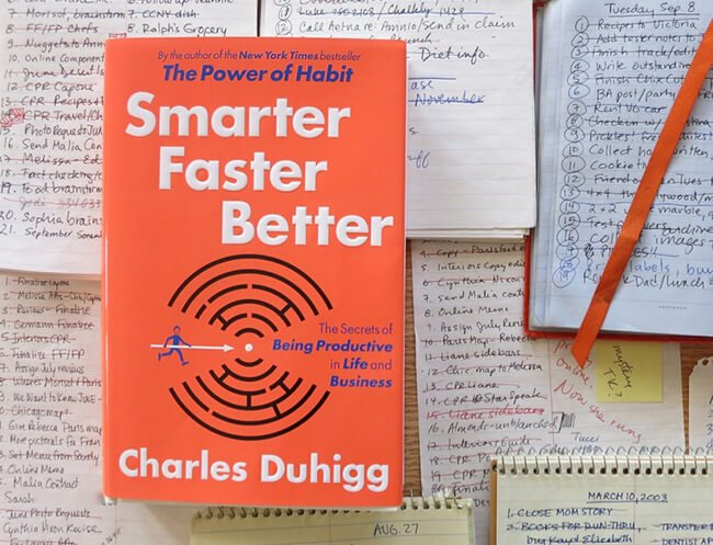Best Business Books Smarter Faster Better Charles Duhigg