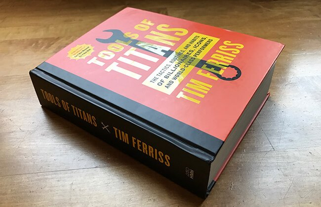 Best Business Books Tools of Titans Tim Ferriss
