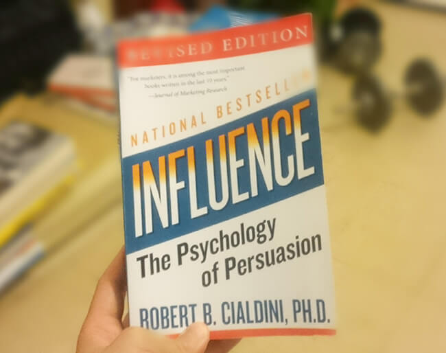 Best business books influence robert cialdini