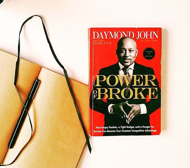 Best business books power of broke daymond john