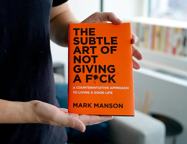 Best business books subtle art mark manson