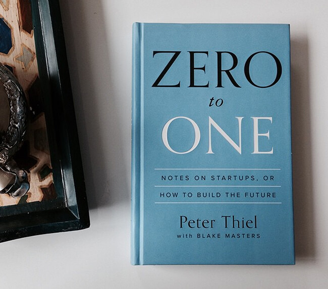 Best business books zero to one peter thiel