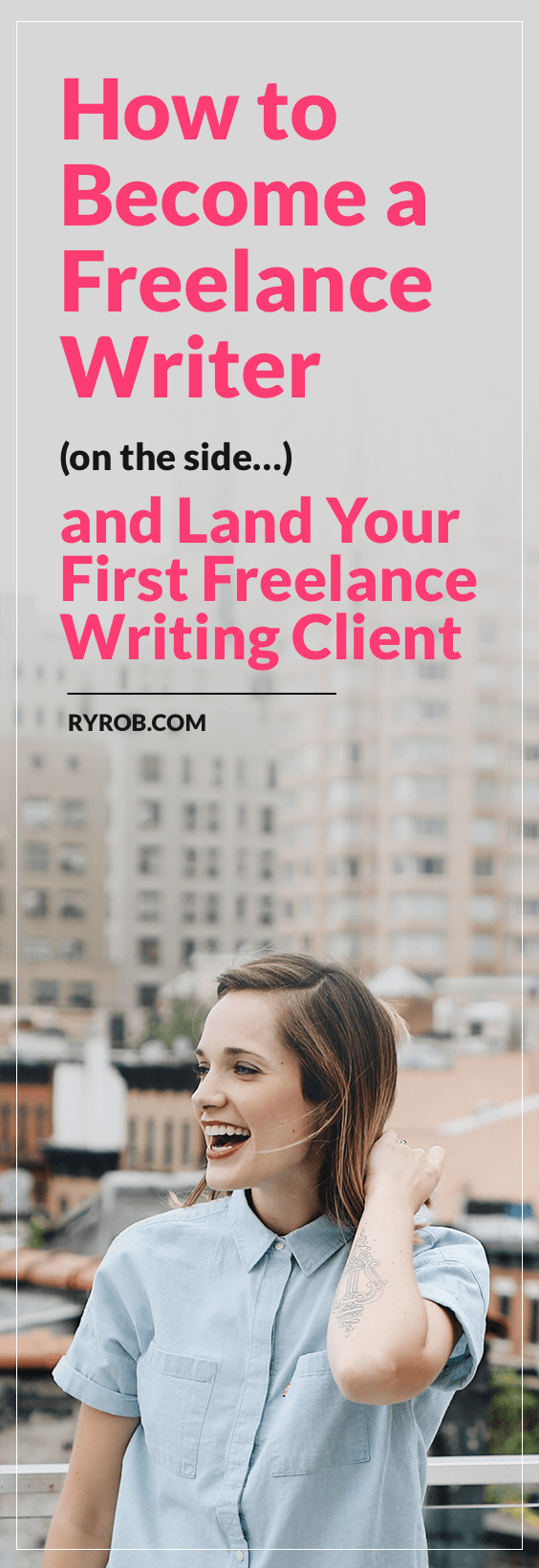 steps to become a lance writer and get your first client let s talk about how to become a lance writer on the side of your day job