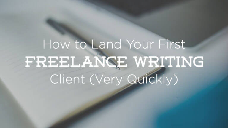 How to Land Freelance Writing Client