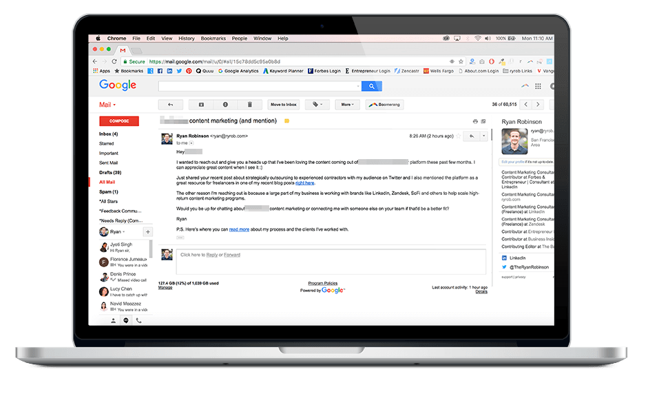 email templates for mac