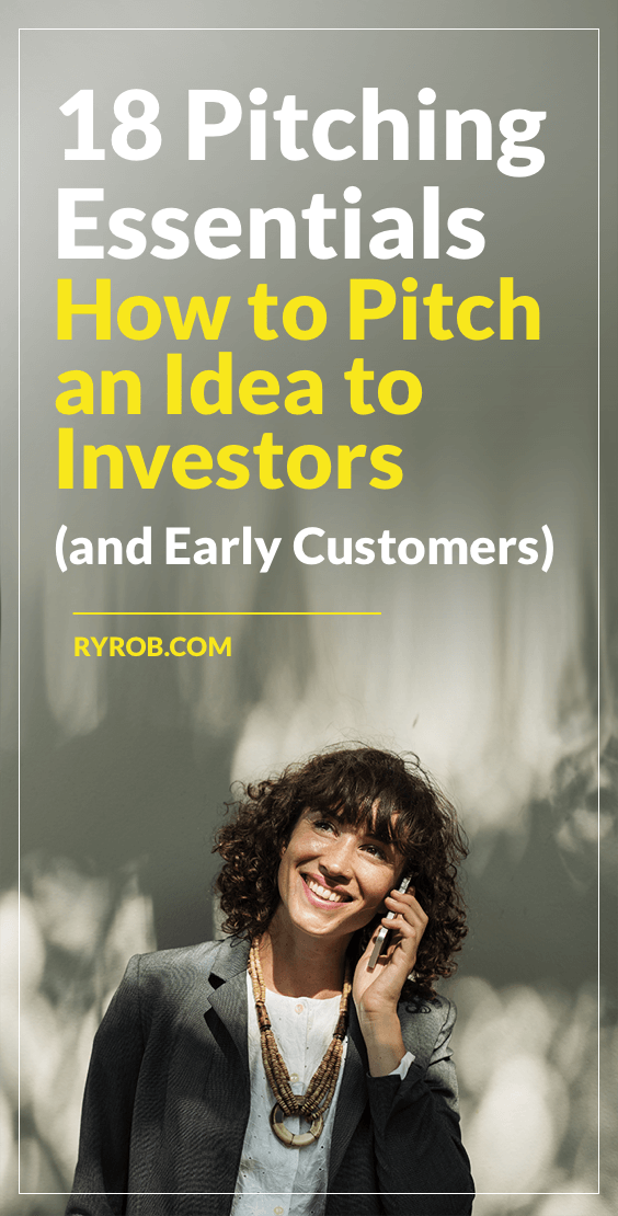 18 Steps How to Pitch an Idea to Investors