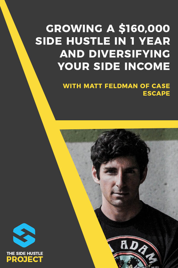 In this episode, my former business partner Matt Feldman and I talk about what it was like starting a company together as a side project right out of college. We cover the origin of Case Escape, how we grew the business to over $160,000 in revenue in less than a year, and the ways Matt's been able to continue growing the company significantly over the years.