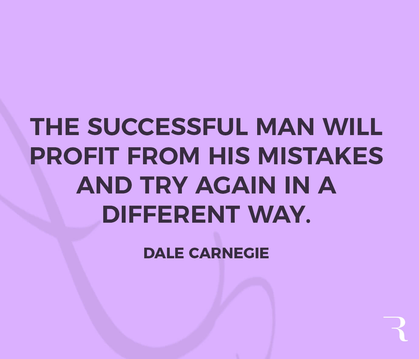 """Motivational Quotes: """"The successful man will profit from his mistakes and try again in a different way."""" 112 Motivational Quotes to Be a Better Entrepreneur"""