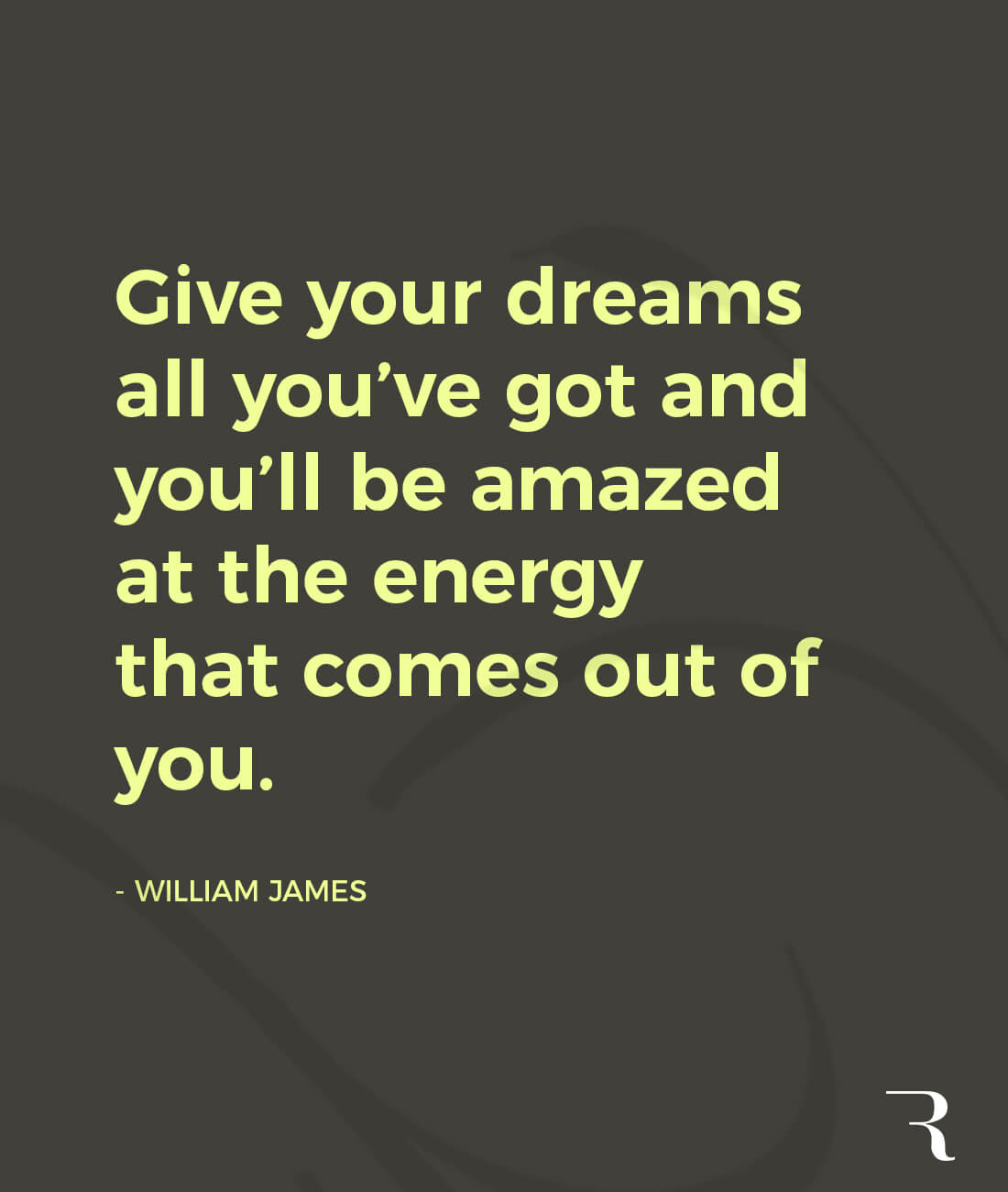 """Motivational Quotes: """"Give your dreams all you've got and you'll be amazed at the energy that comes out of you."""" 112 Motivational Quotes to Be a Better Entrepreneur"""