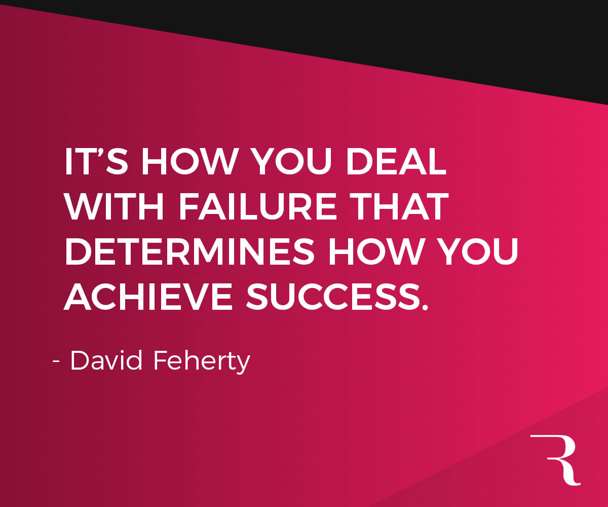 """Motivational Quotes: """"It's how you deal with failure that determines how you achieve success."""" 112 Motivational Quotes to Be a Better Entrepreneur"""