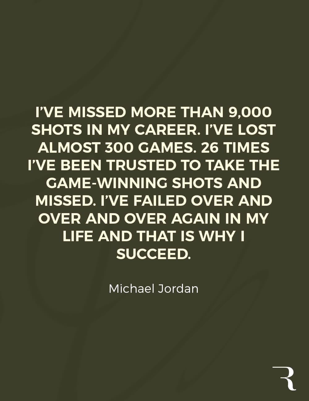 """Motivational Quotes: """"I've failed over and over and over again in my life and that is why I succeed."""" 112 Motivational Quotes to Be a Better Entrepreneur"""