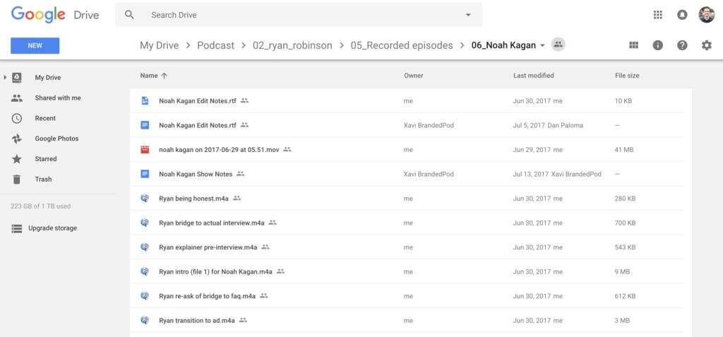 Content Marketing Strategy Podcast Folder Assets