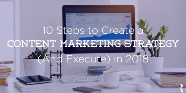 10 Steps Create Content Marketing Strategy with Ryan Robinson on ryrob