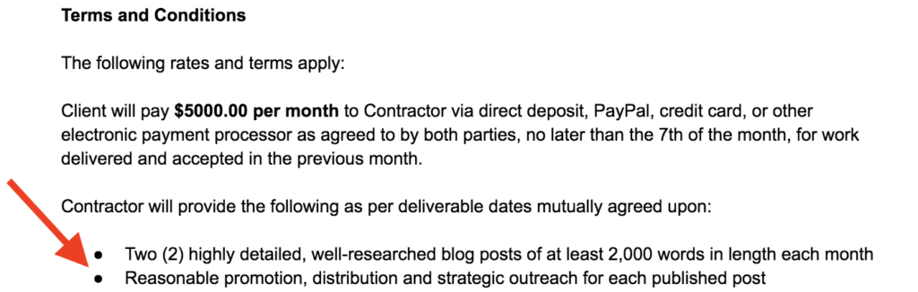 Freelance Contract Template Example Terms and Conditions ryrob Ryan Robinson
