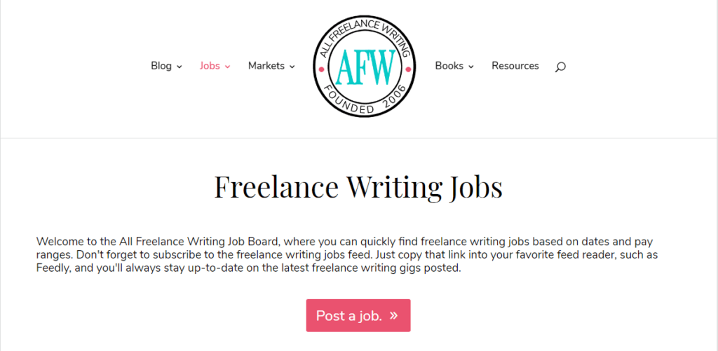 The best free job sites for all indie writers