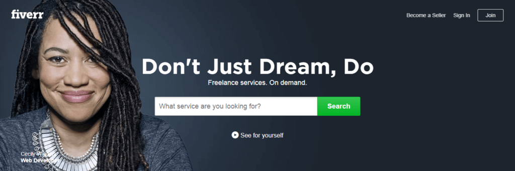 Best Freelance Job Websites Fiverr