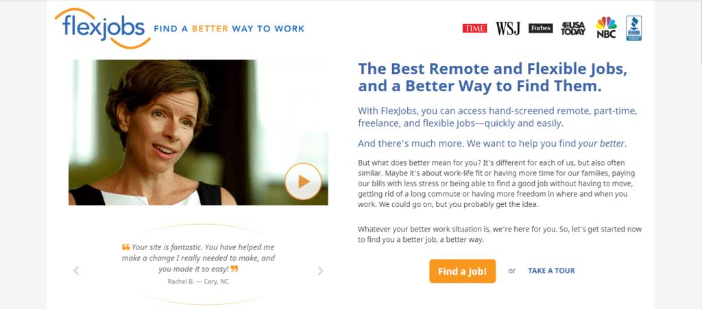 Best Freelance Job Websites FlexJobs