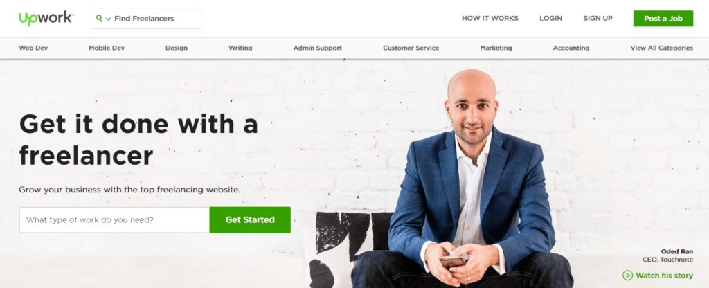 Best Freelance Job Websites Upwork