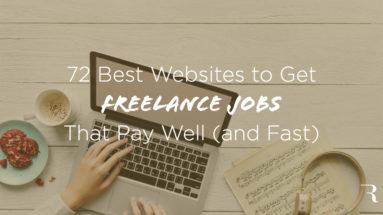 Best Freelance Jobs Websites to Get Freelance Work ryrob hero image