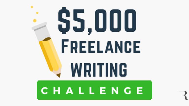 Start Freelance Writing $5,000 Challenge