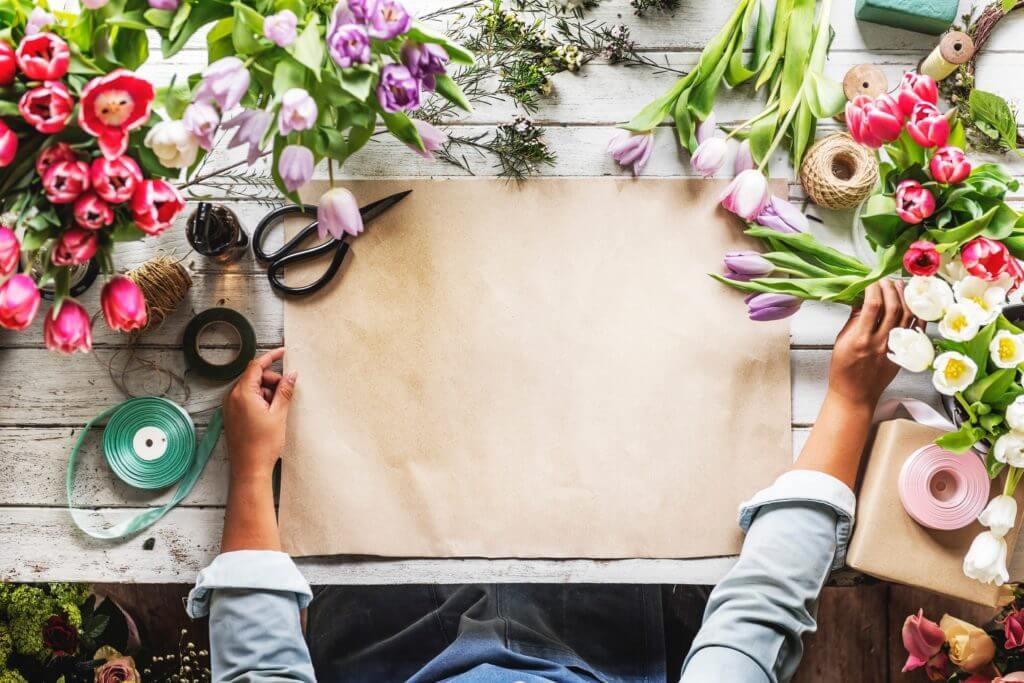 Migliori idee imprenditoriali Design floreale Freelance
