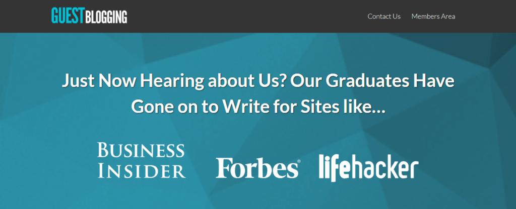 Best Online Business Courses Guest Blogging