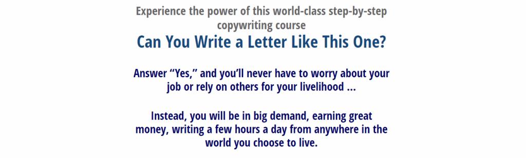 Best Online Business Courses Six-Figure Copywriting