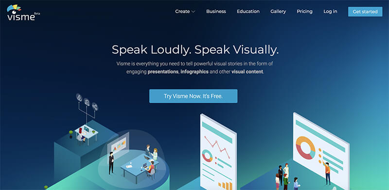 Blog Design Tool Visme for Creating Great Visuals in Your Content
