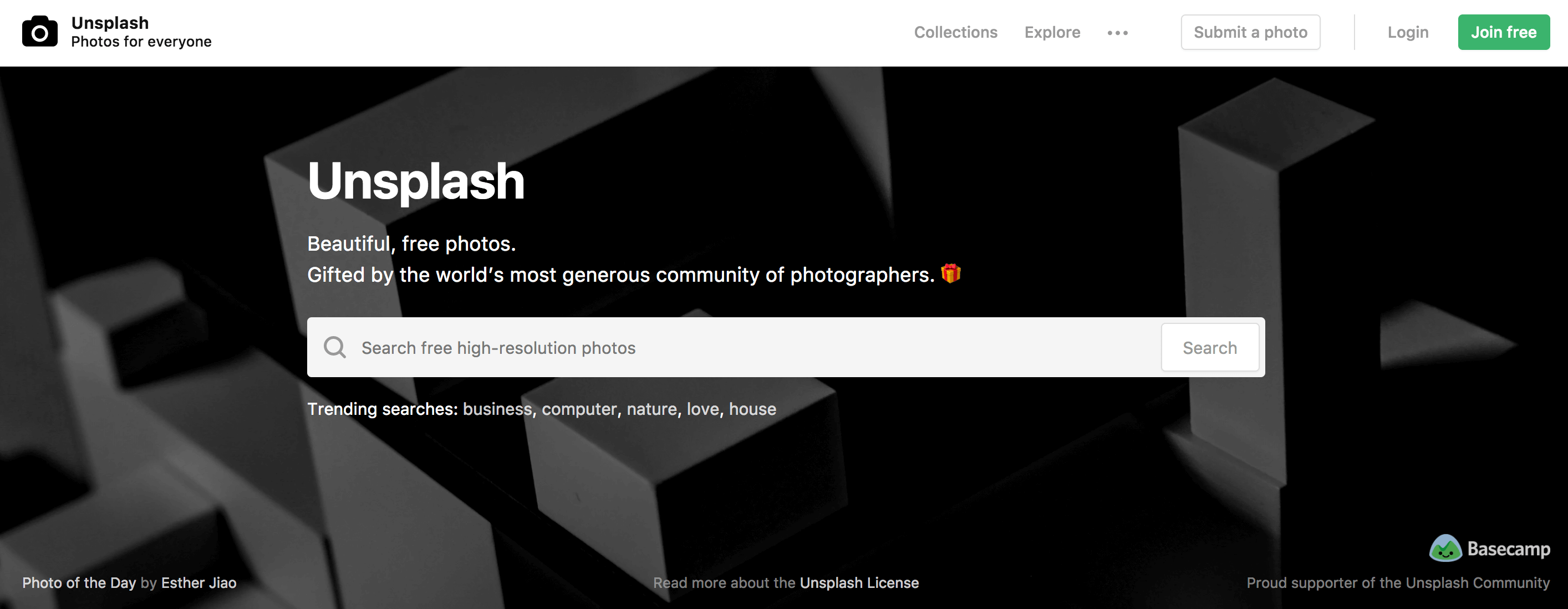 Unsplash Stock Photo Website for Stunning Blog Images