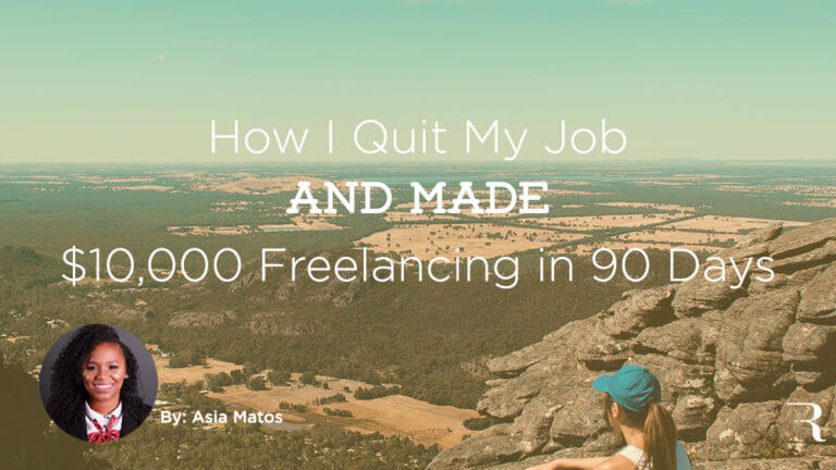 How I Quit My Job and Started Freelancing Asia Matos