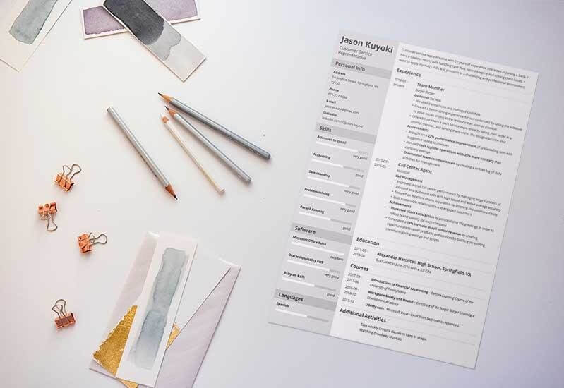 Best Business Ideas How to Write Resumes