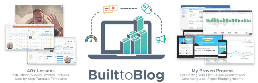 Built to Blog Course Description Image (Pre-Order)