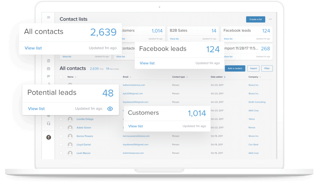 Best CRM for Small Business Startups infusionsoft
