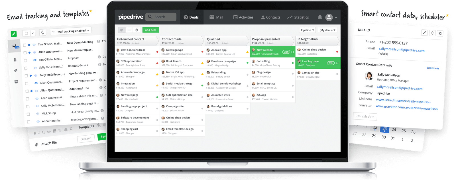 Best CRM for Small Business Startups pipedrive