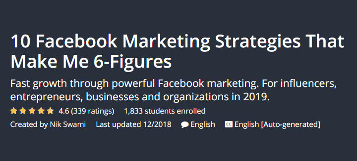 I migliori corsi di blogging per i blogger principianti 10 strategie di marketing su Facebook