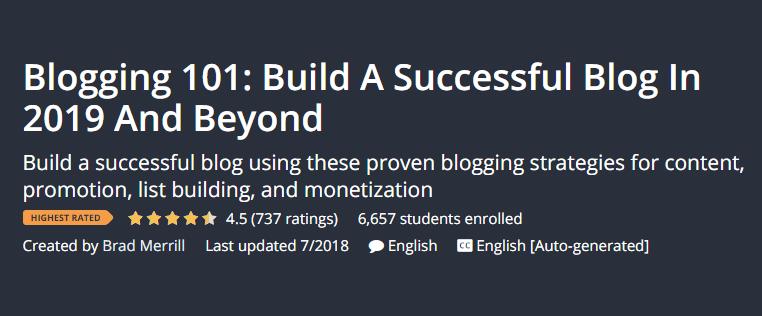 I migliori corsi di blogging per principianti Blogger Blogging 101