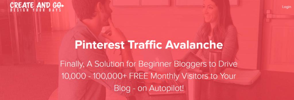 I migliori corsi di blogging per i blogger principianti Pinterest Traffic Avalanche