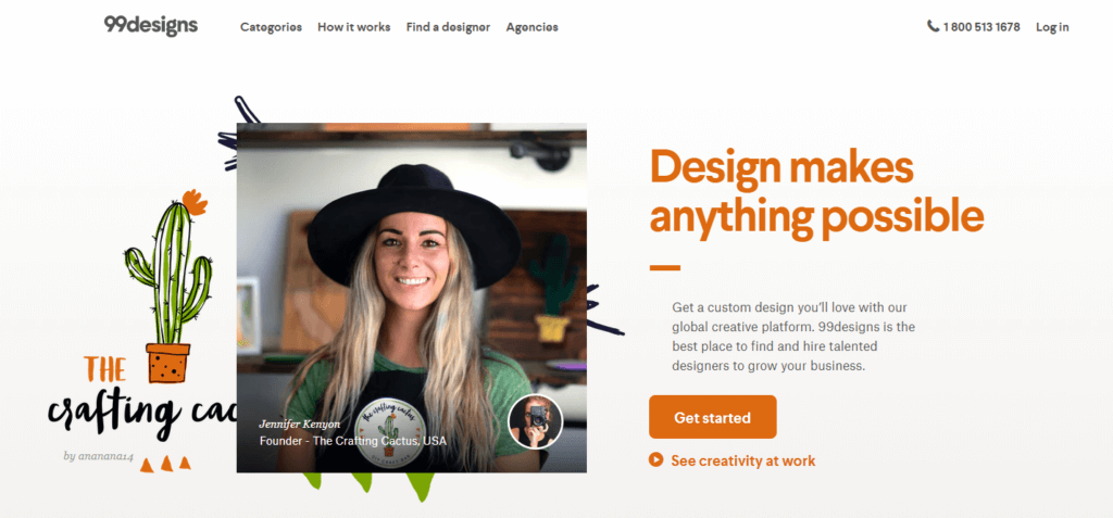 Remote Jobs Websites 99designs
