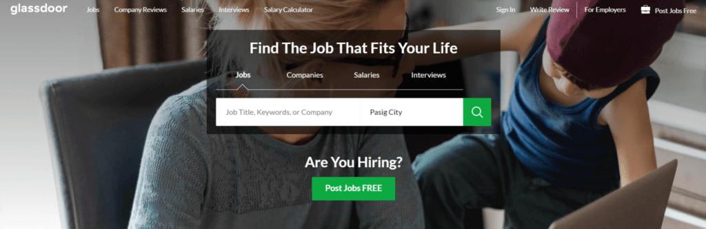 Remote Jobs Websites Glassdoor