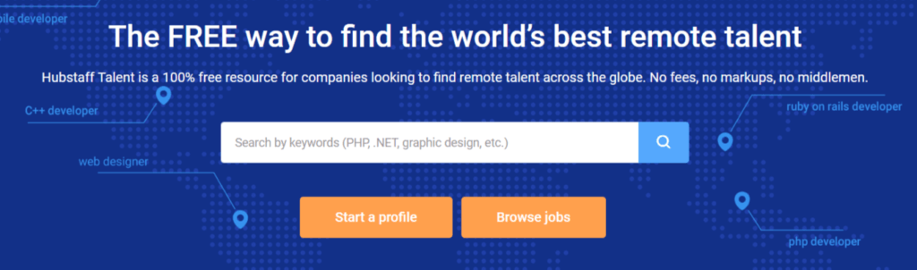 Remote Jobs Websites HubStaff Talent