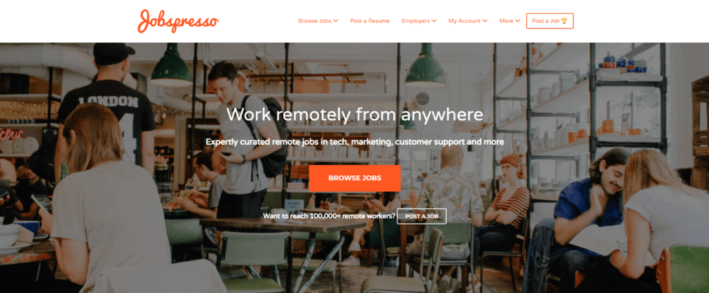 Remote Jobs Websites Jobspresso